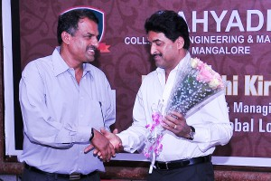 Manjunath Bhandary with Shashikiran Shetty