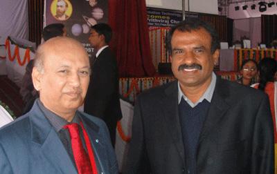 U.R.Rao_with_Manjunath Bhandary