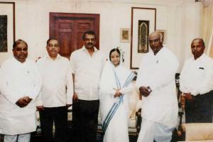 Manjunath Bhandary Prathibha Patil