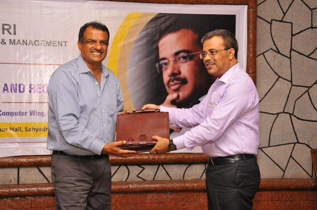 Mr. Sanjay Sahay, ADGP, Karnataka Police Visit Sahyadri